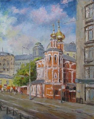 Church of All Saints, Moscow. Kruglova Svetlana