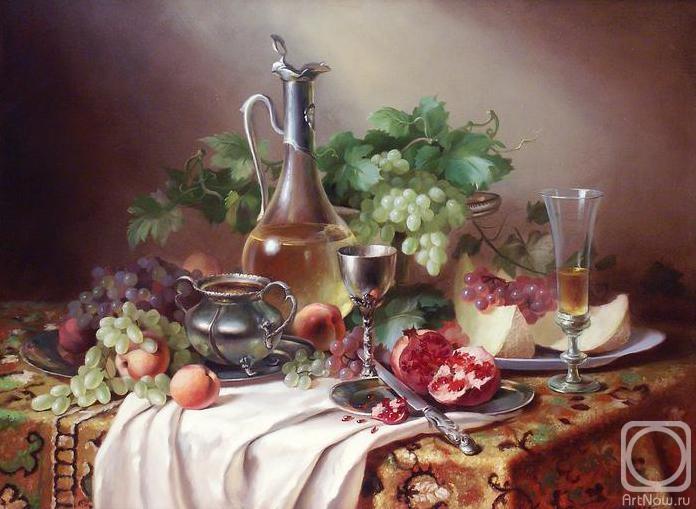 Николаев Юрий. Вкусный натюрморт