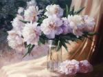 Николаев Юрий. Пионы на утреннем солнце
