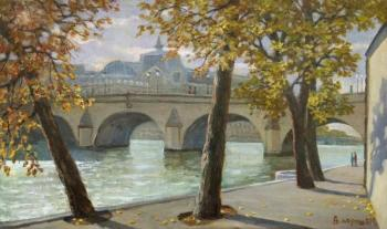 Paris. The Banks Of The Seine. Paroshin Vladimir