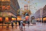 Paints of the city. Minaev Sergey