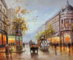 Sounds of the city. Minaev Sergey